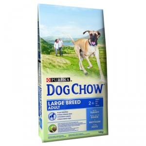 Dog Chow Chien Adult Grande Race, dinde et riz
