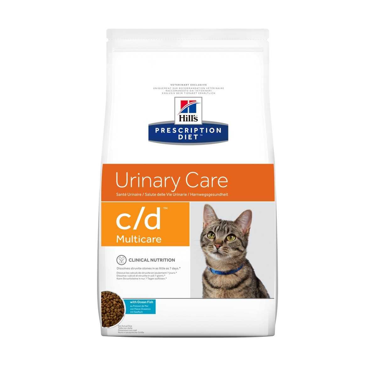 Hill's Prescription Diet Urinary Care C/D Multicare poisson pour chat