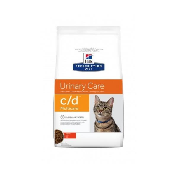 Hill's Prescription Diet Urinary Care C/D Multicare poulet et poisson pour chat