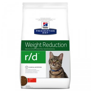 Hill's Prescription Diet Weight Reduction r/d pour chat