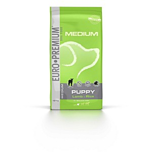 Euro Premium Medium Puppy agneau riz pour chiot