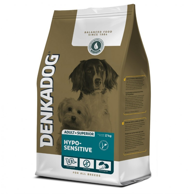 Denkadog Hypo-Sensitive pour chien