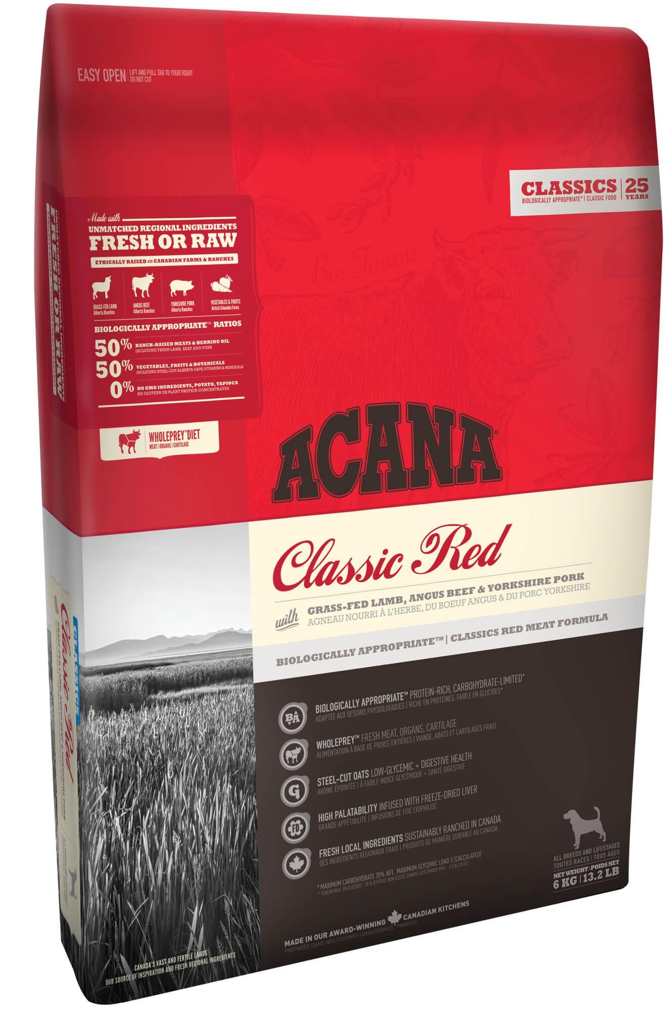 Acana Classics Classic Red pour Chien