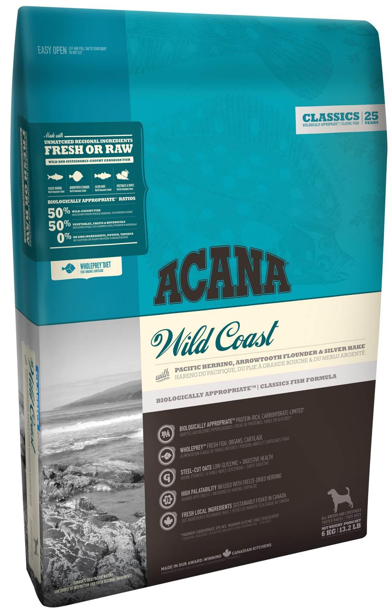 Acana Classics Wild Coast pour Chien