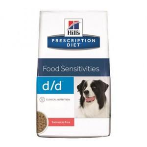 Hill's Prescription Diet Chien D/D Saumon & Riz