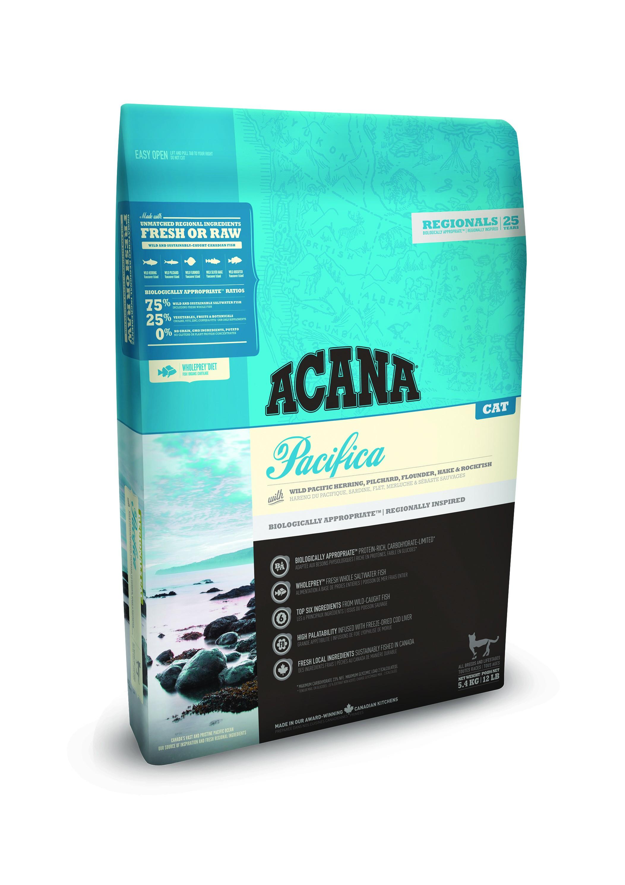 Acana Regionals Pacifica pour chat