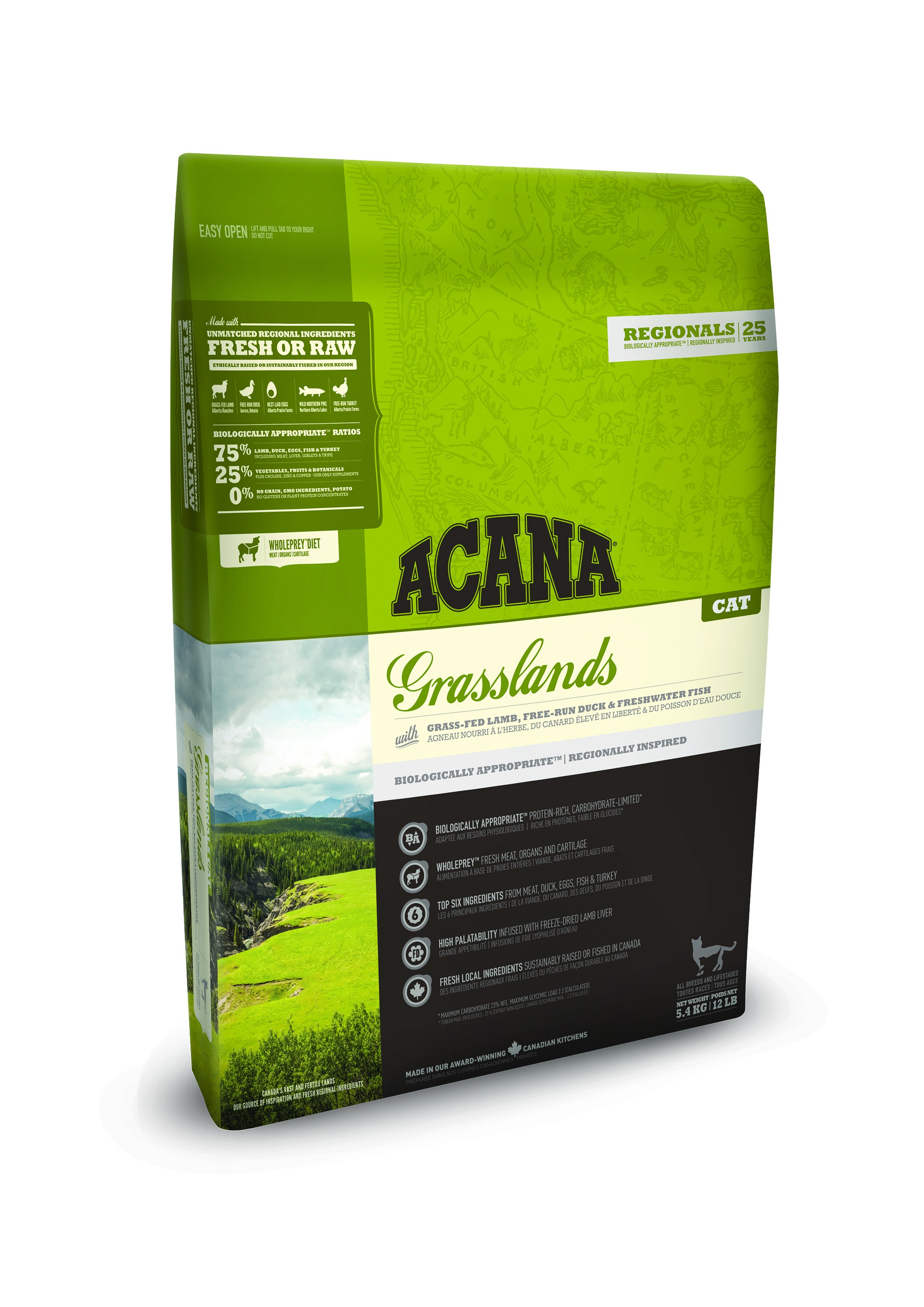Acana Regionals Grasslands pour chat