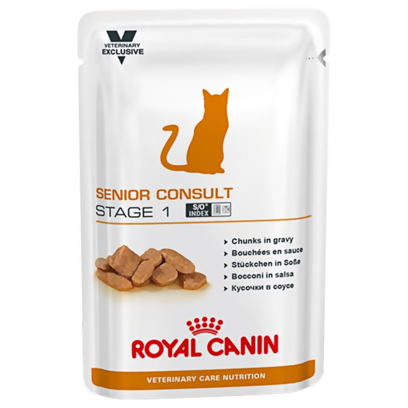 Royal Canin VCN Senior Consult Stage 1 pour chat -  100 g