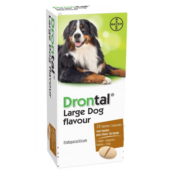 drontal large dog pour grand chien. Black Bedroom Furniture Sets. Home Design Ideas