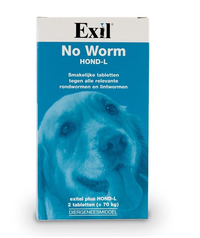 Vermifuge Exil No Worm Chien L