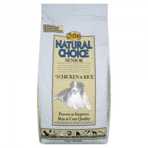 Nutro Choice Chien Senior, poulet