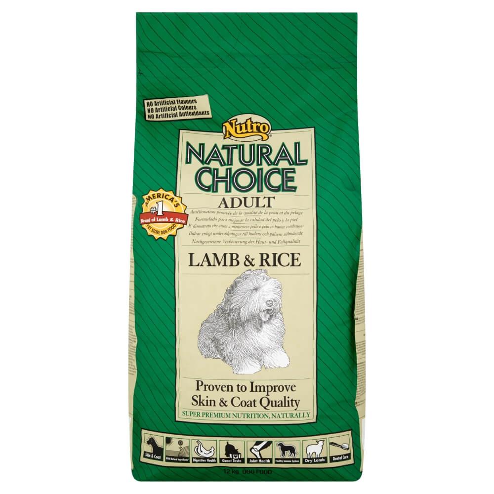 Nutro Choice Chien Adulte, agneau et riz