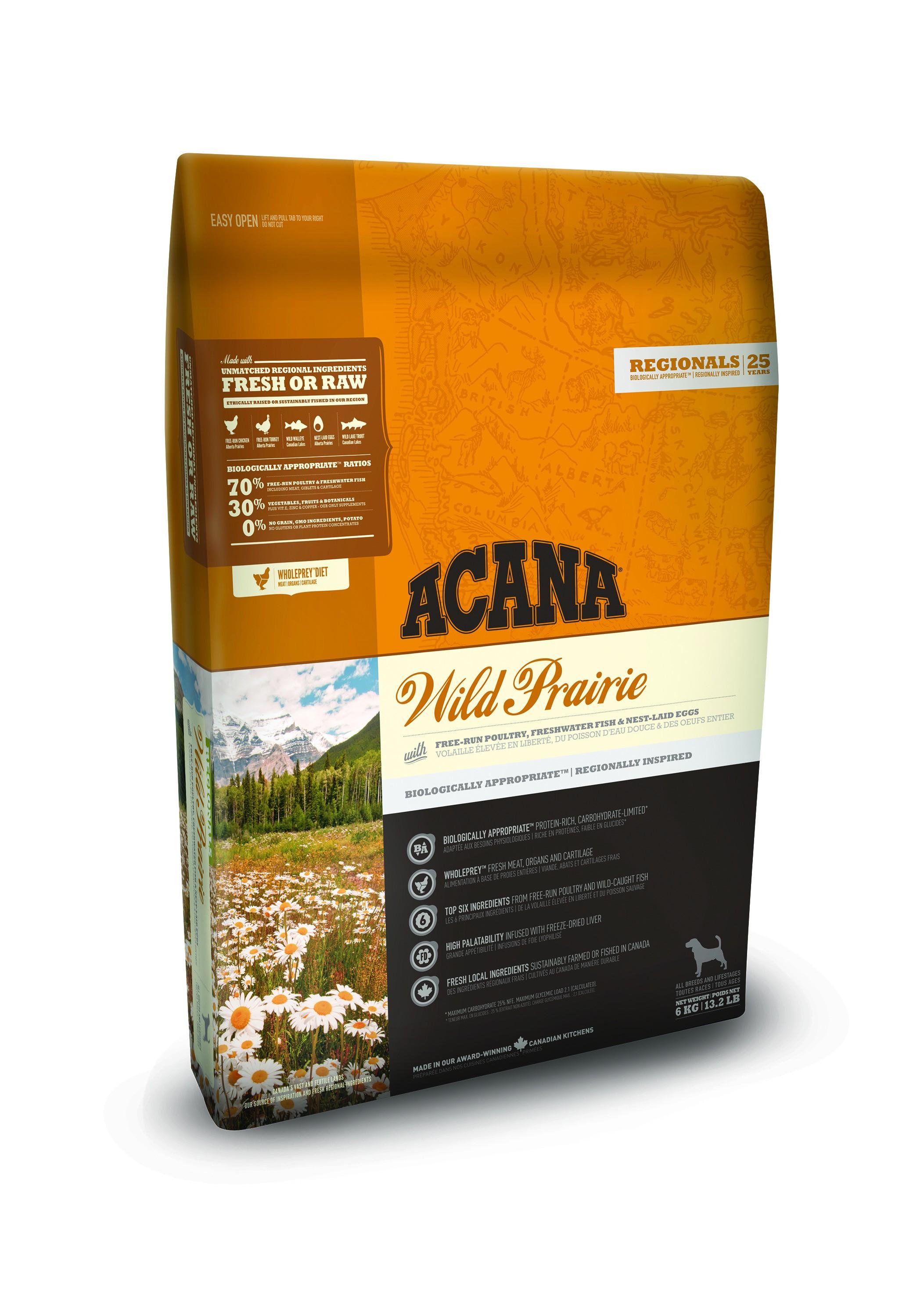 Acana Regionals Wild Prairie pour Chien