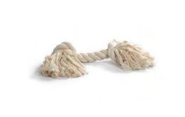 Corde Blanche de 27 cm - 2 noeuds