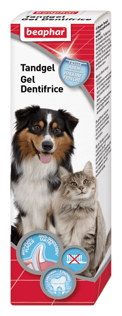 Beaphar Gel dentaire pour chien et chat