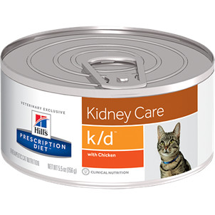 Hill's Prescription Kidney Care K/D 156g pour chat