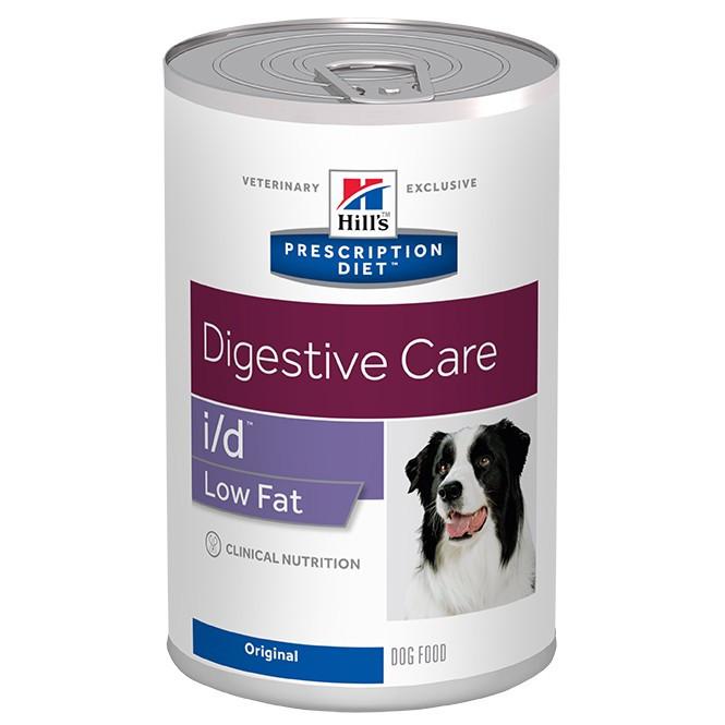 Hill's Prescription I/D Low Fat Digestive Care pâtée pour chien boîte