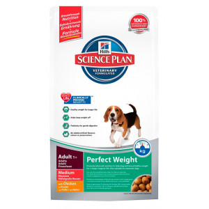 Hill's Science Plan Perfect Weight Medium Adult poulet pour chien