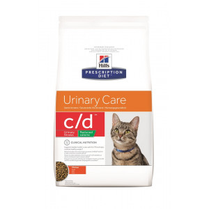 Hill's Prescription Diet Urinary Care c/d uriany stress reduced calories pour chat
