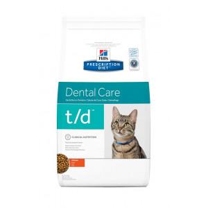Image de 1.5 kg Hill's Prescription Diet Dental Care t/d poulet pour chat