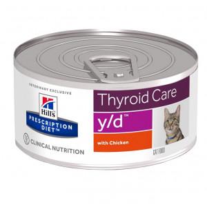 Hill's Prescription Diet Y/D boîte pour chat