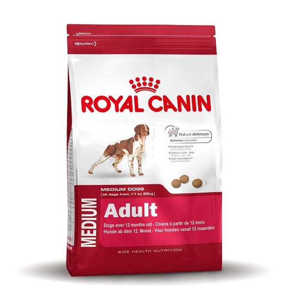 croquettes royal canin medium adult pour chien. Black Bedroom Furniture Sets. Home Design Ideas