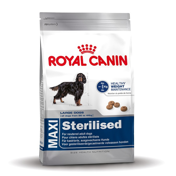 Croquettes royal canin maxi sterilised pour chien - Croquette royal canin maxi junior ...