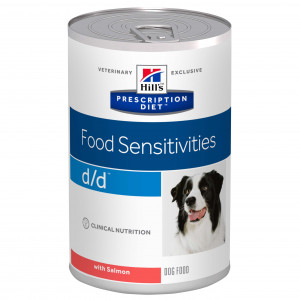 Hill's Prescription Diet D/D Saumon Boite Chien