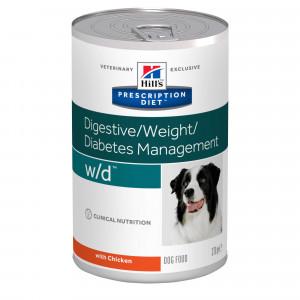 Hill's Prescription Diet W/D Boite 370g Chien