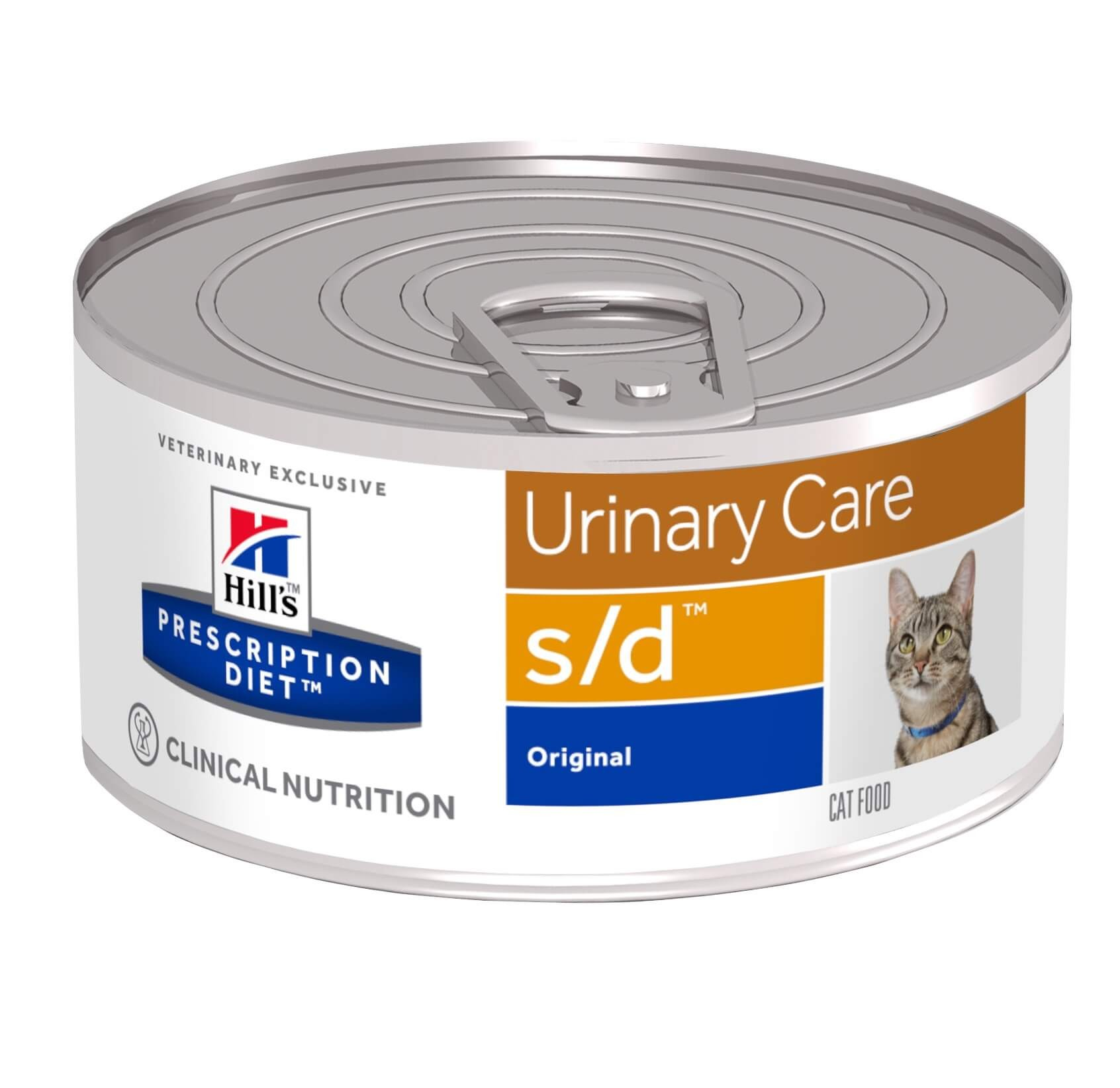 Hill's Prescription Diet S/D Boite 156g Chat