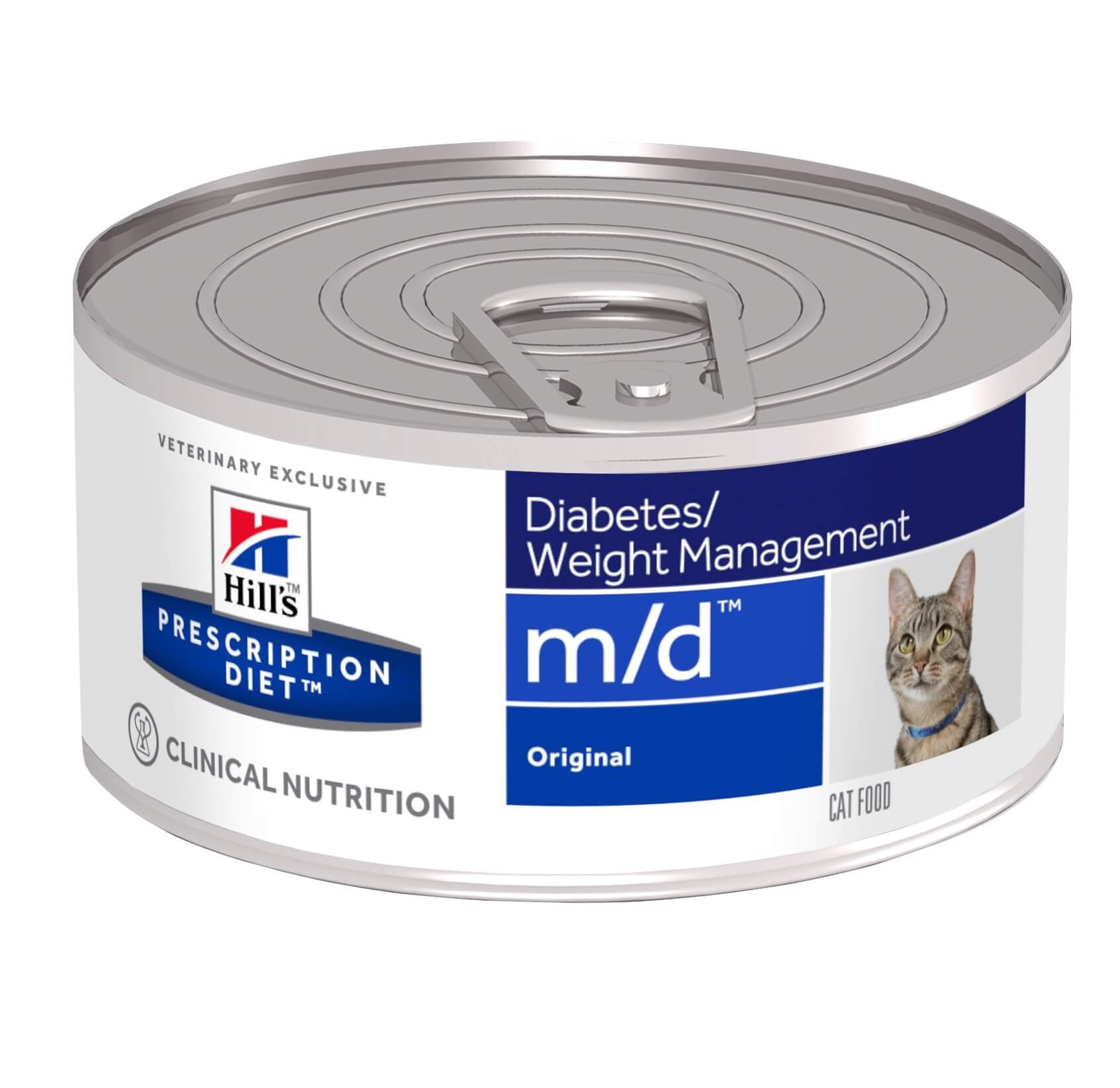 Hill's Prescription M/D Diabetes Weight Management pâtée pour chat
