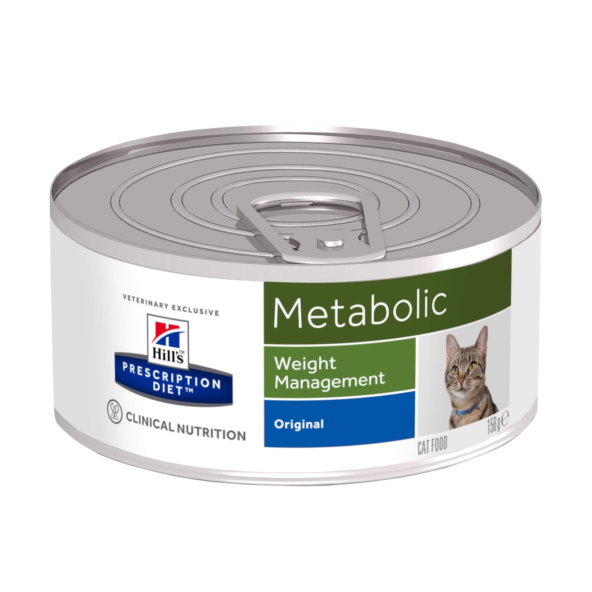 Hill's Prescription Metabolic Weight Management pour chat boîte 156 g
