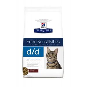 Image de 1.5 kg Hill's Prescription Diet Food Sensitivities D/D pour chat