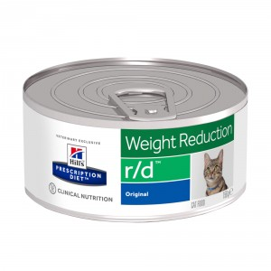 Hill's Prescription R/D Weight Reduction pâtée pour chat 156g