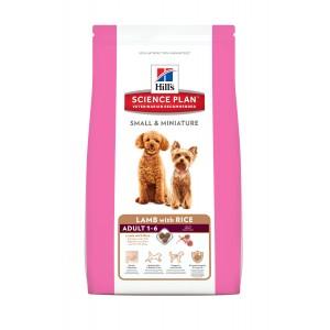 Image de 1.5 kg Hill's Adult Small & Miniature Agneau & Riz pour chien