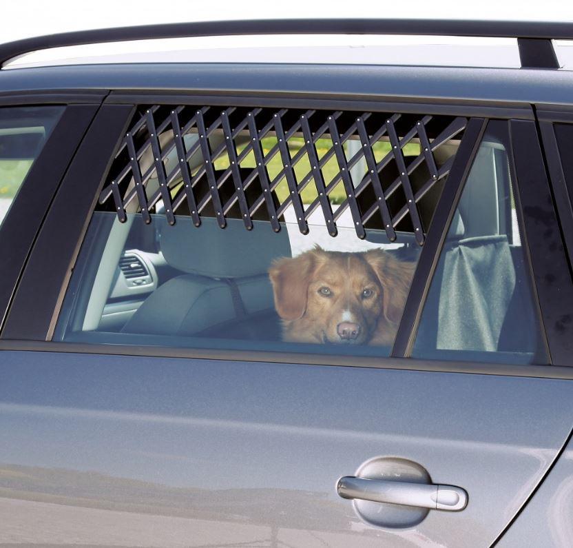 Grille de ventilation pour fenêtre de voiture