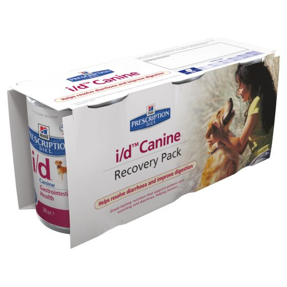 Hill's Prescription Diet I/D Pack Recovery Chien (3 x 360 g)