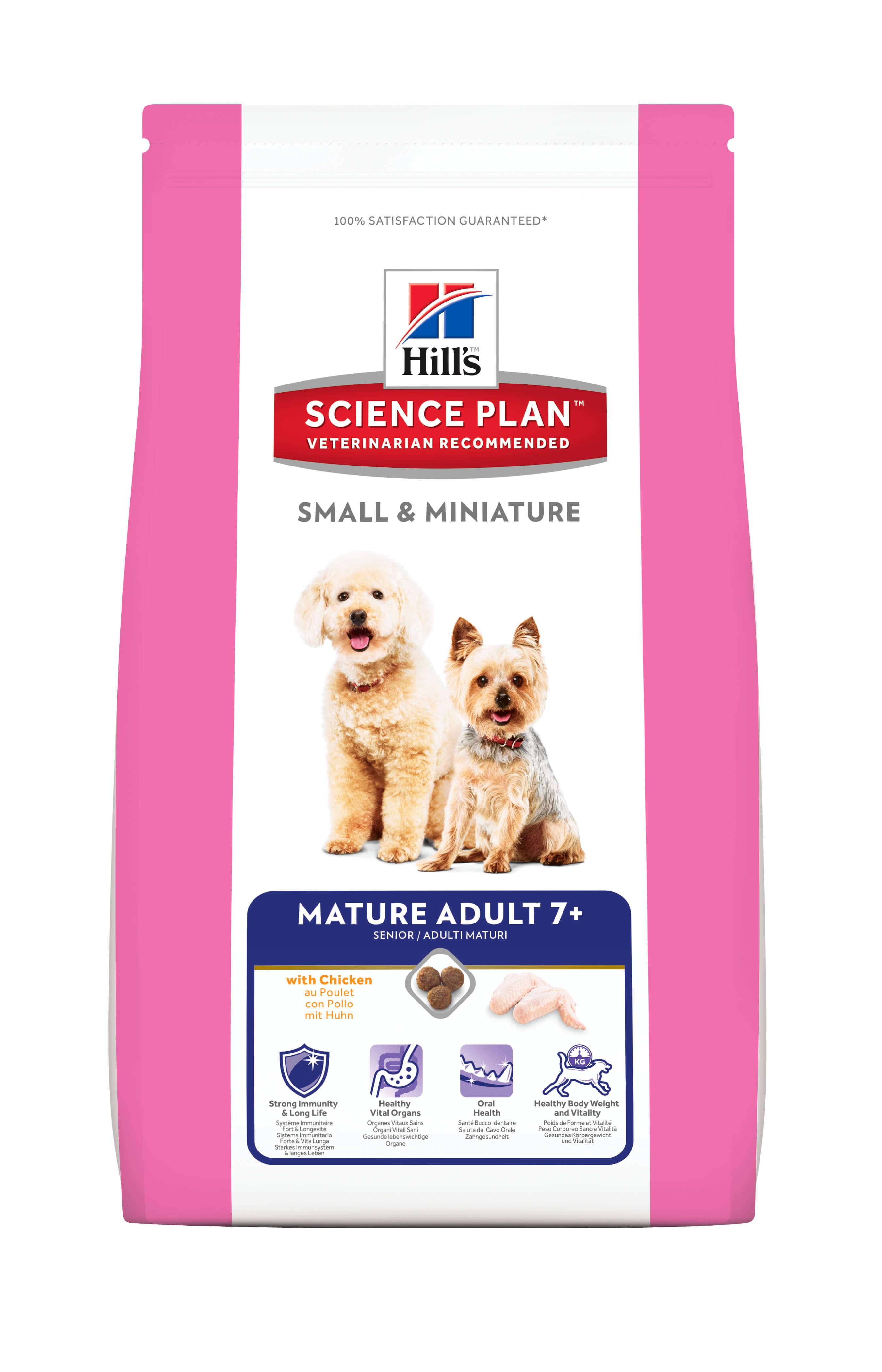 Hill's Mature/Senior 7+ Small & Miniature Chien