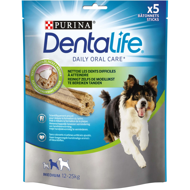 Purina Dentalife Sticks Medium pour chien