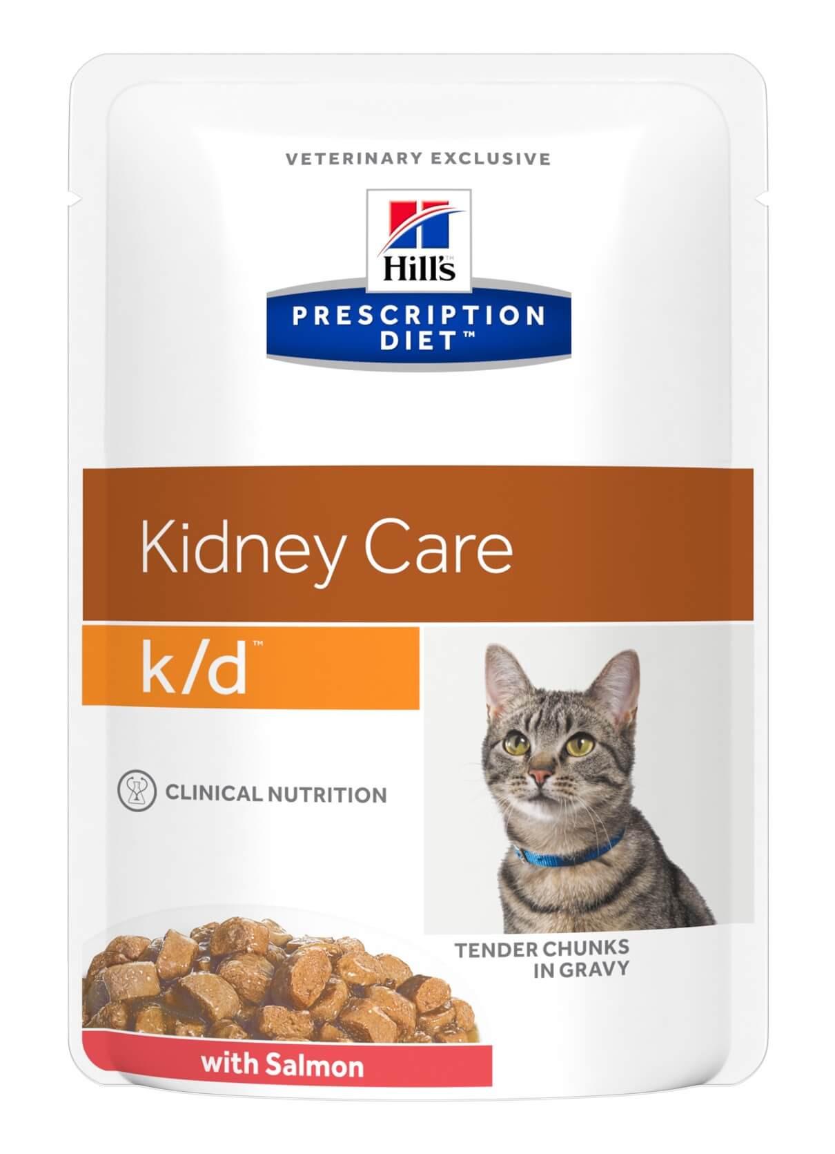 Hill's Prescription Diet K/D pouch saumon 85g