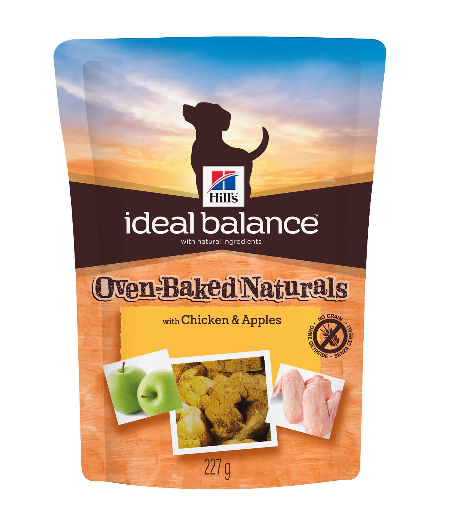 Hill's Ideal Balance Oven-Baked Poulet & Pommes pour chien