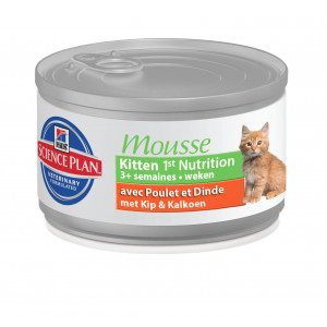 Hill's Kitten 1st Nutrition Mousse Chat