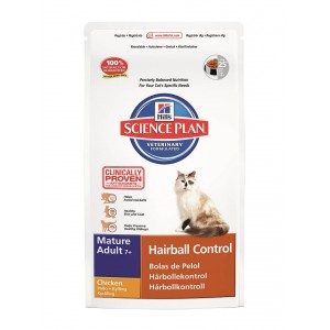 Hill's Mature Adult Hairball Control Chat