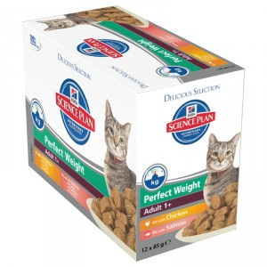 Hill's Adult Perfect Weight Sachet 85 gr pour chat