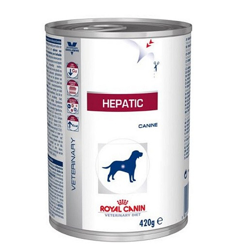 Royal Canin Veterinary Diet Hepatic pour chien
