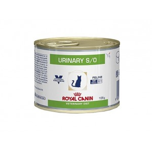 royal canin veterinary diet urinary s o 195g pour chat. Black Bedroom Furniture Sets. Home Design Ideas