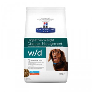 Hill's Prescription Diet Digestive/Weight Diabetes Management w/d Mini pour chien