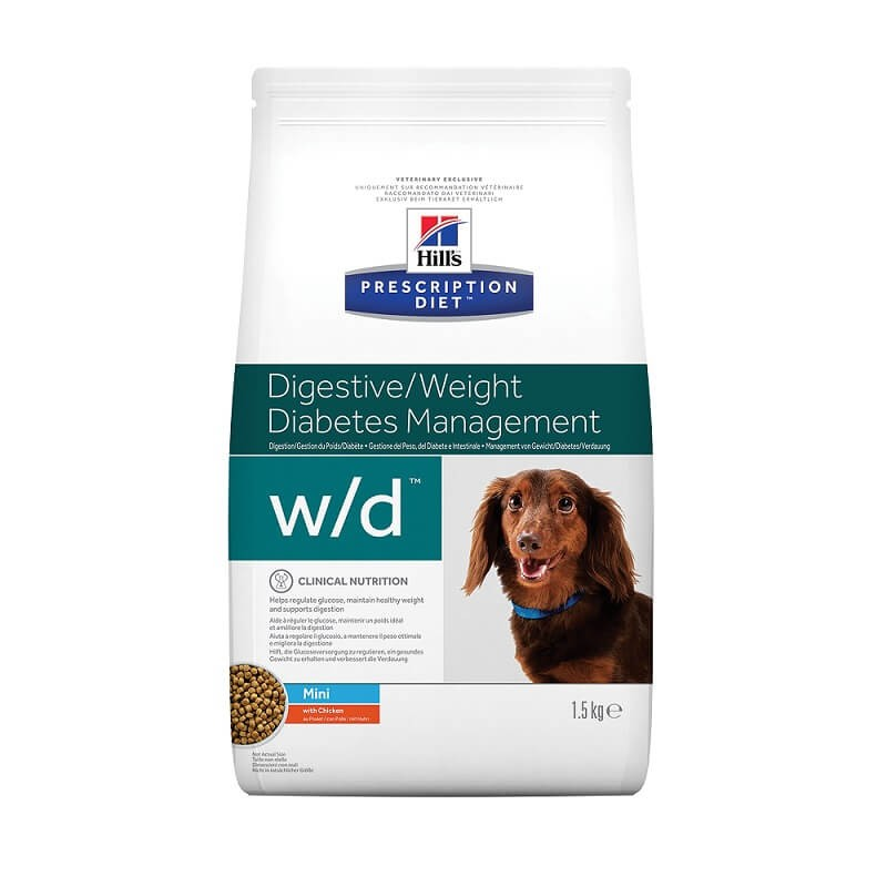 Hill's Prescription Diet Chien W/D Mini