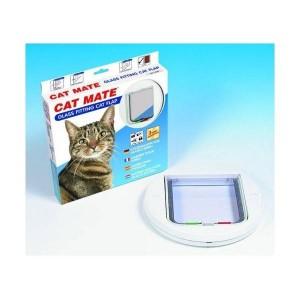 Cat Mate 210 Chatière Blanche pour Vitre