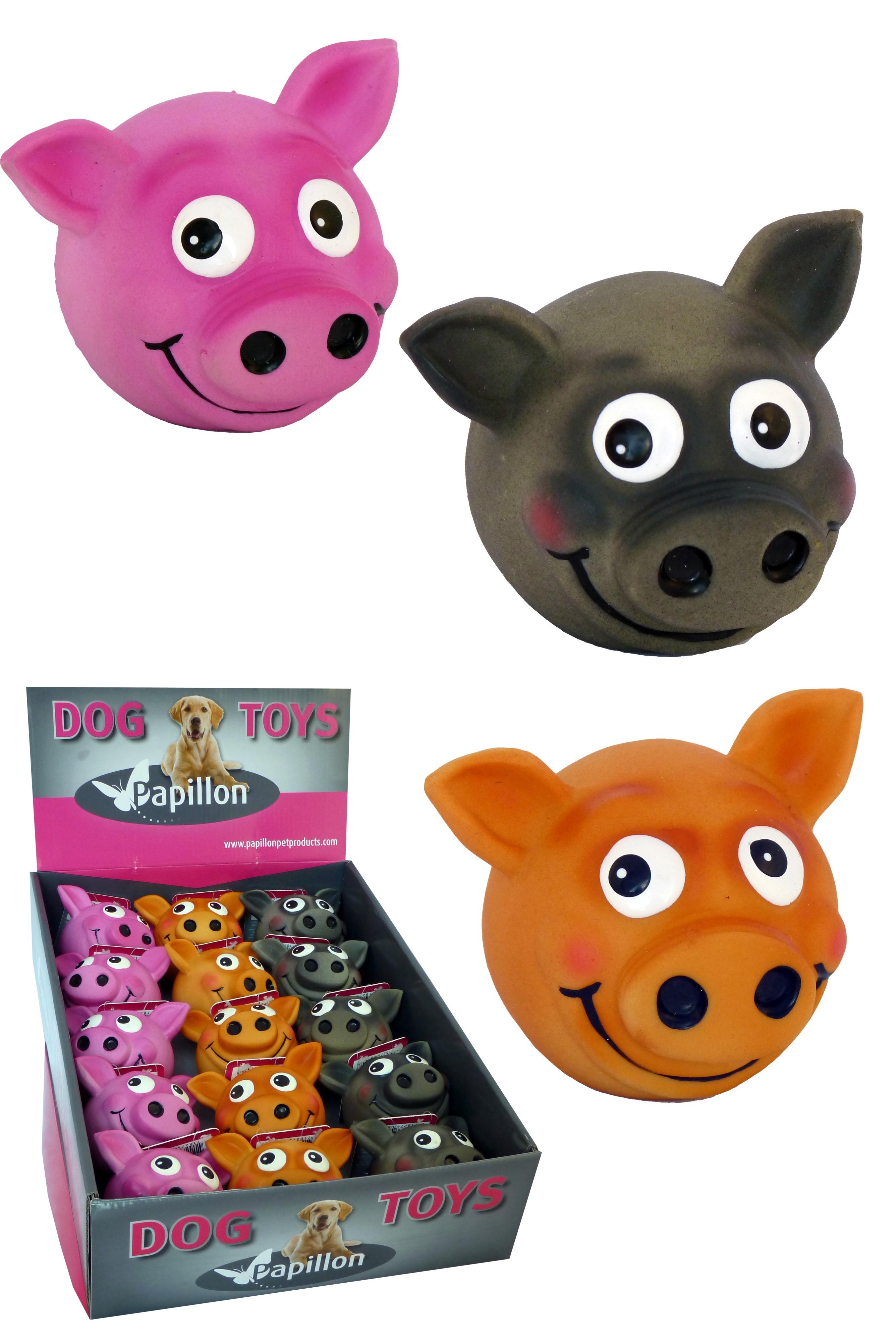 Latex Ball Cochon jouet pour chien